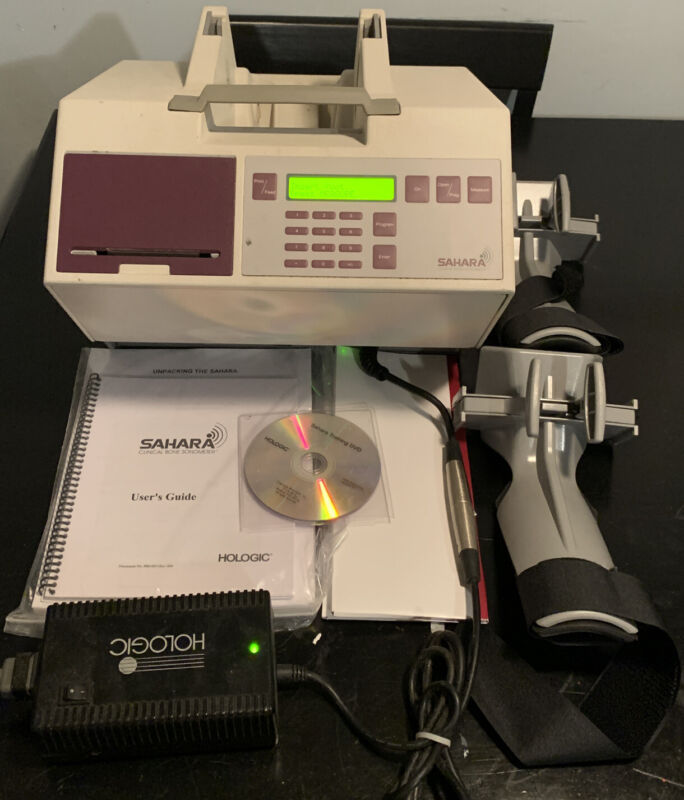 Hologic RM Sahara Bone Sonometer w/ Accessories And Original Box