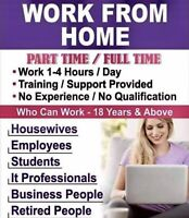 Work from Home / or our office !