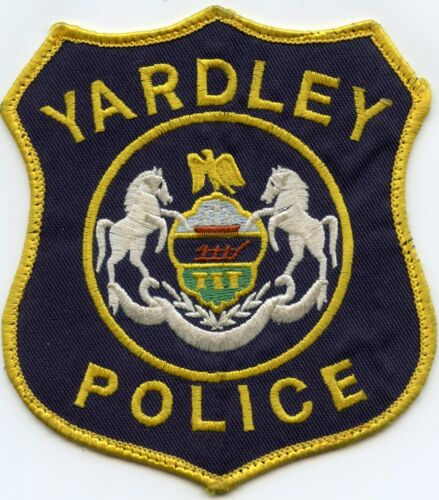 YARDLEY PENNSYLVANIA PA state seal POLICE PATCH
