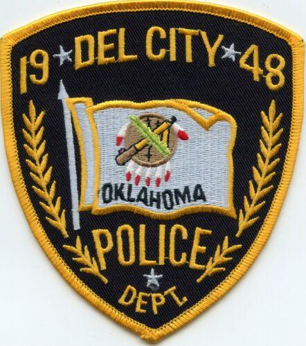 DEL CITY OKLAHOMA OK POLICE PATCH