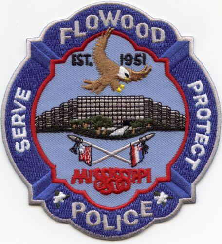 FLOWOOD MISSISSIPPI MS Serve Protect POLICE PATCH