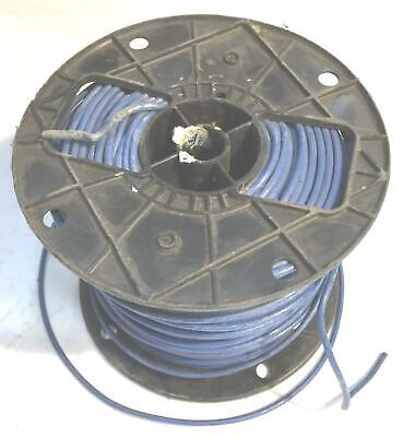 Blue 12 Awg Thhn Stranded Wire 9.6 Lb Spool Nos