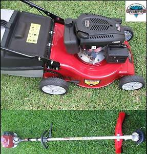 2016 Brand New 4 Stroke Lawn Mower & Whipper Snipper Package Bulimba Brisbane South East Preview