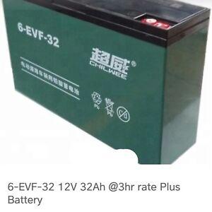 Scooter/e bike batteries