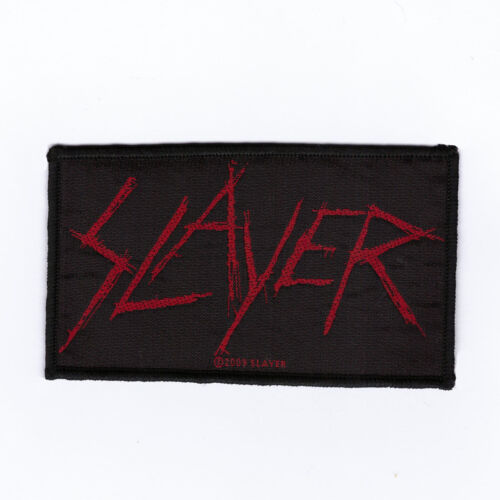 """Slayer """"Scratched Logo"""" Official Woven Patch"""