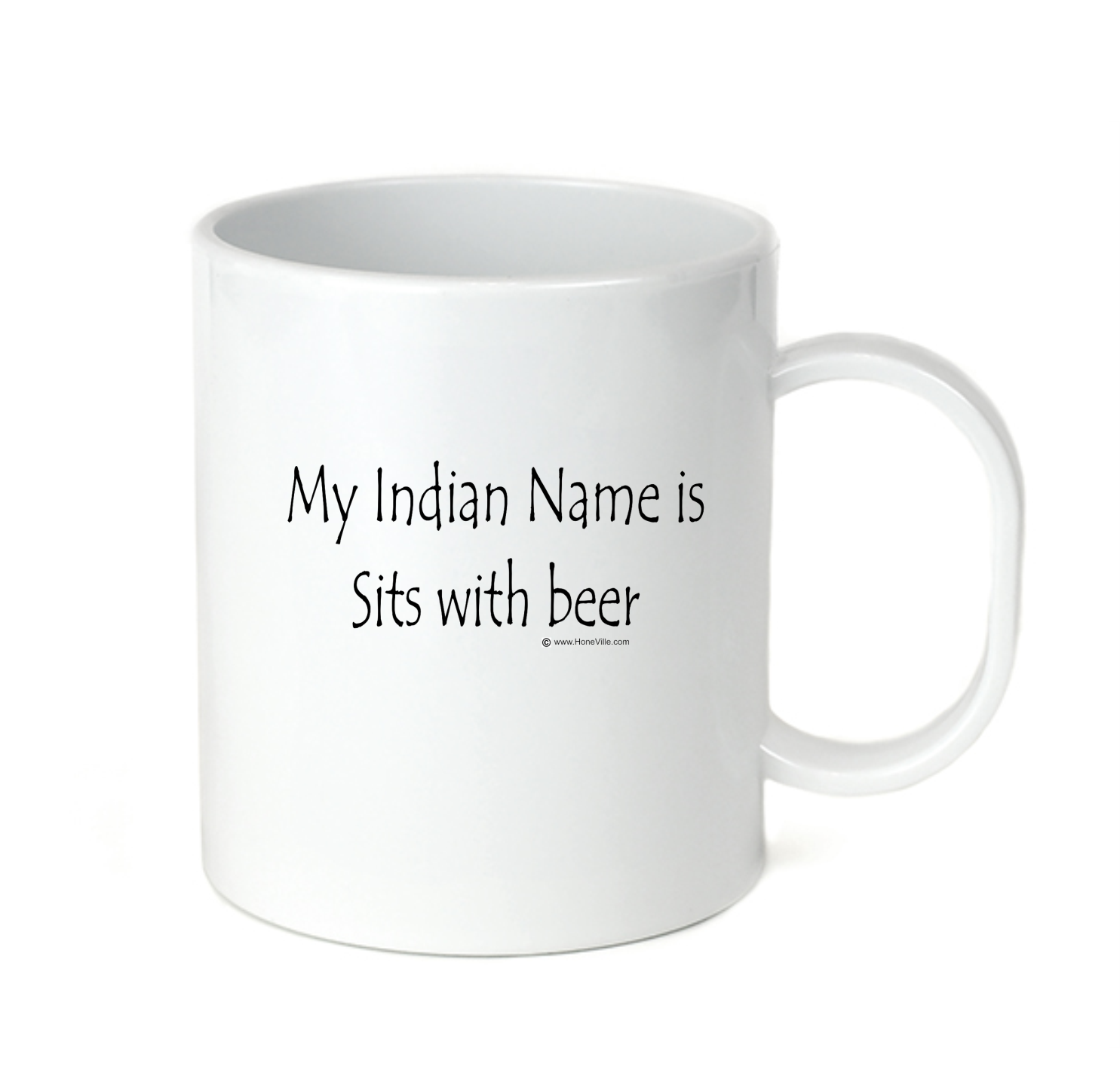 Coffee Cup Travel Mug 11 15 Oz My Indian Name Is Sits With B