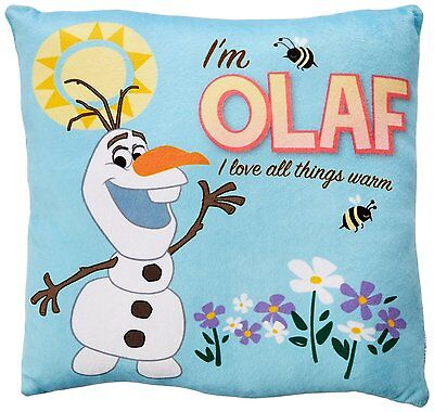 "Disney Frozen Olaf Decorative Pillow 11""x 11"""