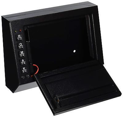 Quick Access Pistol Safe Electronic - Box Gun Car Lock Truck  Closet Drawer Case