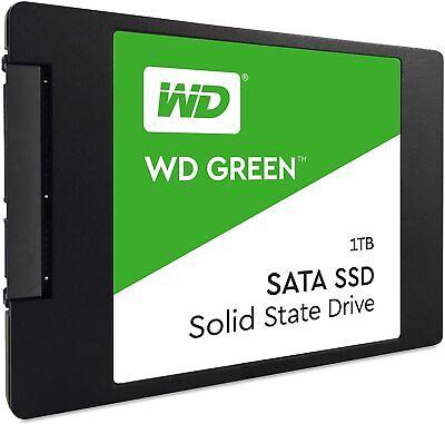 """WD Green 1TB SSD 2.5"""" SATA III Western Digital Internal Solid State Drive PC/MAC"""