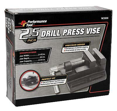 2.5 Drill Press Vise Clamp Machine Vise Metal Milling Slide Hammer Tough Tool