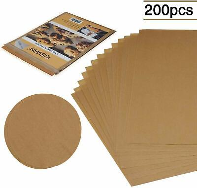 "Parchment Paper Baking Sheets 100pcs 12""x16"", 100pcs 7"" Round Pan Liners US Ship"