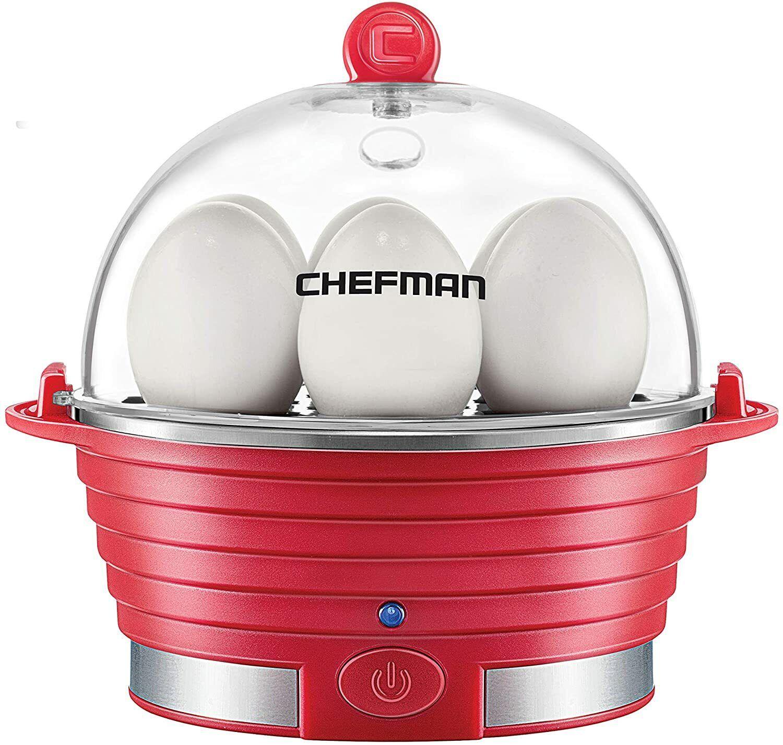 Chefman Electric Egg Cooker Boiler Rapid Poacher, Poaching/O