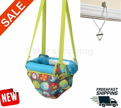 Baby Johnny Jump Up Doorway Jumper Kids Entertainment Exerciser Door Frame Clamp