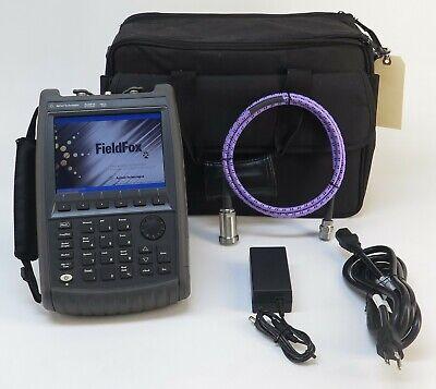 Keysight Agilent N9912a Fieldfox Rf Analyzer W Spectrum Analyzer 6 Ghz Opt