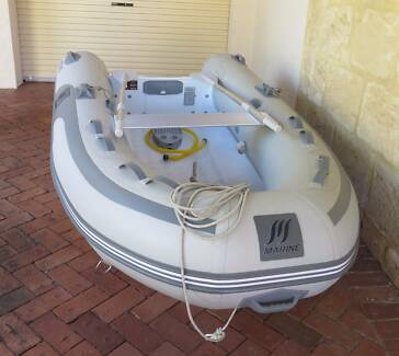 2.7 m MANSFIELD MARINE Alloy RIB (inflatable dinghy)