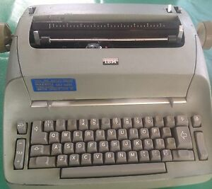 IBM Electric Typewriter Revesby Heights Bankstown Area Preview