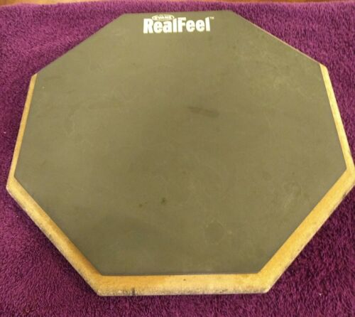 "Evans Real Feel Single Side 12"" Speed and Workout Drum Pad"