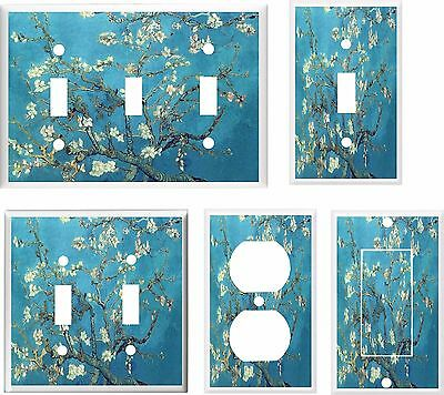 ALMOND BLOSSOMS VAN GOGH LIGHT SWITCH COVER PLATE  HOME DECOR  Decorative Switch Cover Plates