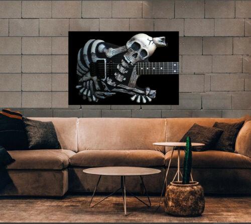 """Dokken poster Mr. Scary guitar George Lynch 36"""" x 24""""  80s era cool AF as vinyl"""