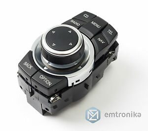 Bmw Cic Idrive Controller Wheel 8 Button E60 E90 E81 E70
