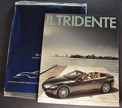 2009-2010 Maserati IL Tridente Magazine Quattroporte GranCabrio English, Italian