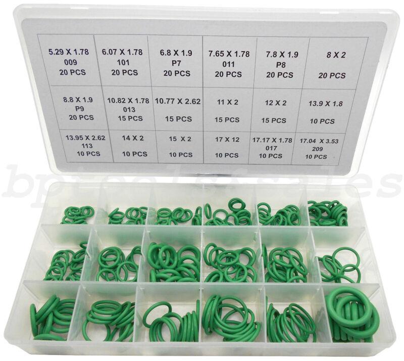 270pc High Pressure O-Ring Set HNBR A/C Assortment Oil Proof Plumbing Air Gas