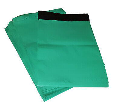 200 9x12 Poly Mailers Plastic Envelopes Shipping Mailing Bags Teal Green