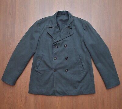 Massimo Alba Mens Green Cotton Wool Jacket Coat Blazer sz 52 / L