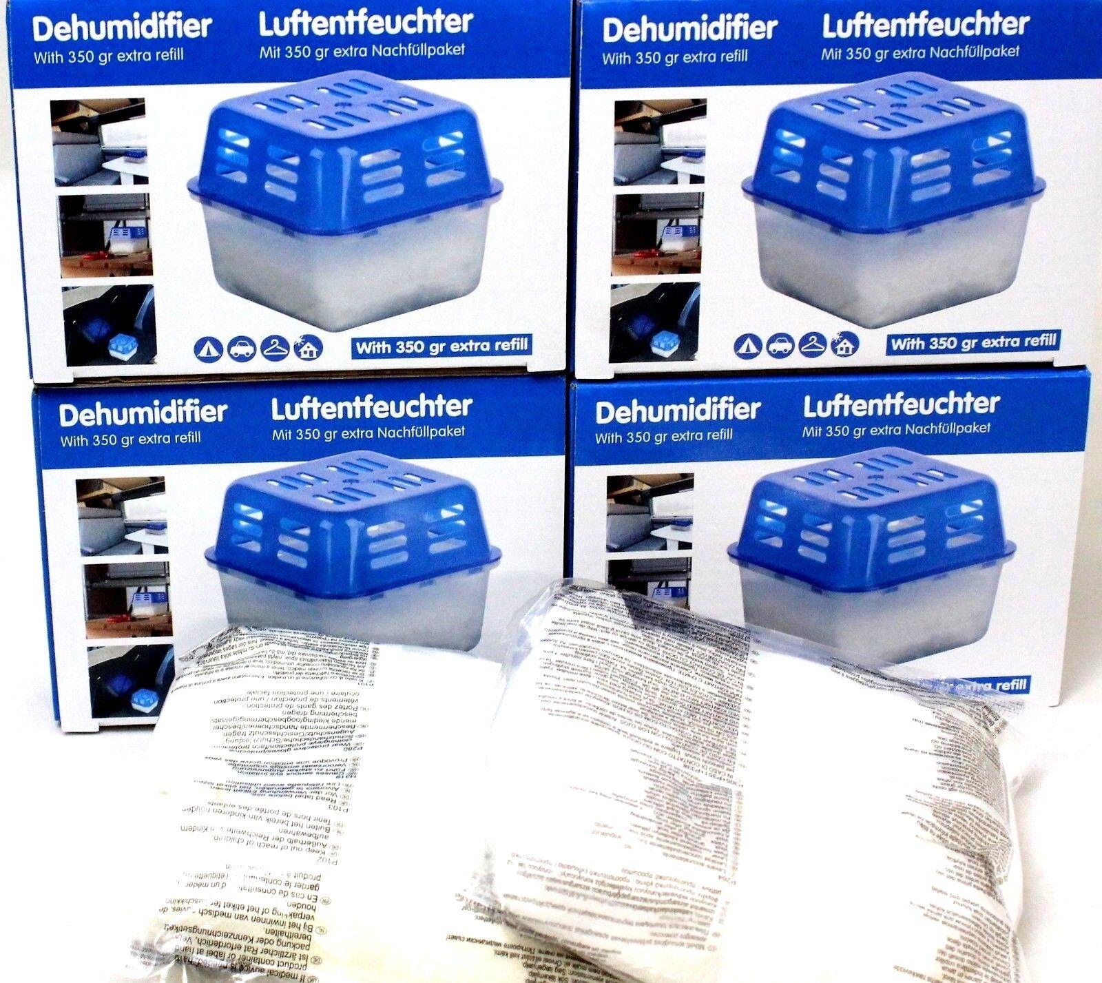 Luftentfeuchter Raumentfeuchter Lufttrockner Entfeuchter Box 2 KG Granulat NEU