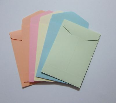 Handmade Seed Envelopes 2-34 X 4 Small Mini Coin Packet Money Storag Gum Flap