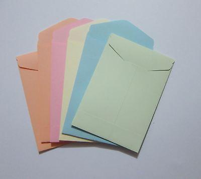 Handmade Seed Envelopes 2-34 X 4 Small Mini Coin Packet Money Storag Gum Flap