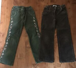 7 pairs of pants for girl size 7- most Gymboree