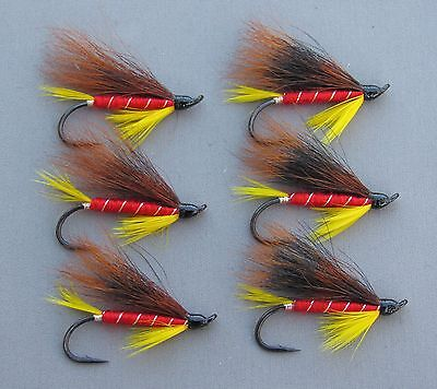 Grizzly King Streamer Trout Flies 6 Fly MULTI-PACK Sizes 4 6 and 8