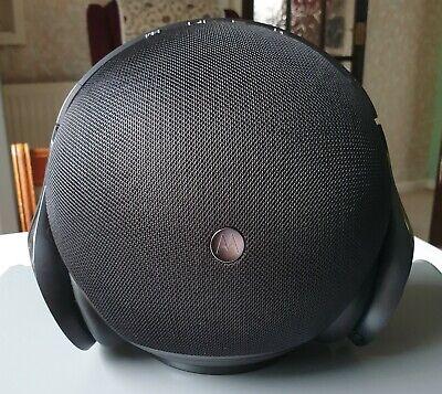 Motorola Sphere+ 2-In-1 Bluetooth Speaker With Wireless Over-Ear Headphones -