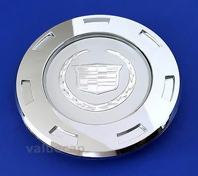 "CADILLAC WHEEL CENTER HUB CAP 2007-2014 ESCALADE 22"" 9596649 Chrome New 1pc Cadi"