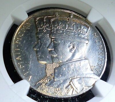 GB KING GEORGE V QUEEN MARY 1935 SILVER JUBILEE  COIN