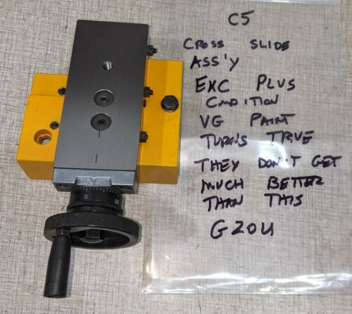 Emco Compact 5 Manual Lathe Parts: Cross Slide Assembly G20U