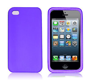 New Silicone Soft Gel Rubber Flex Skin Cover Case For Apple iPhone 4s 4 4g