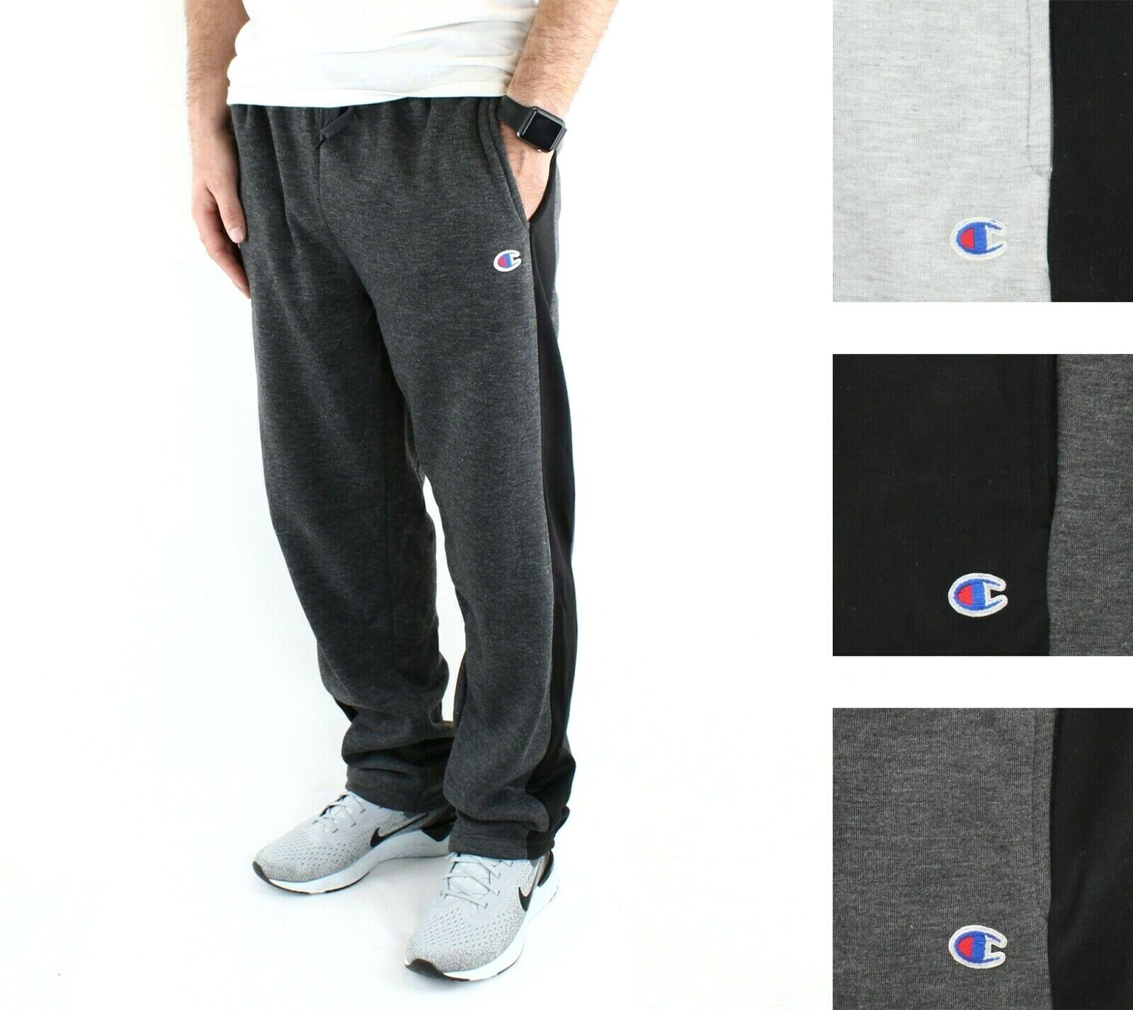 Champion Men's Jogger Sweatpants Fleece Active Athleticwear