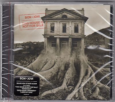 Bon Jovi   This House Is Not For Sale   Cd  Nov 2016  Island  Label   New Sealed