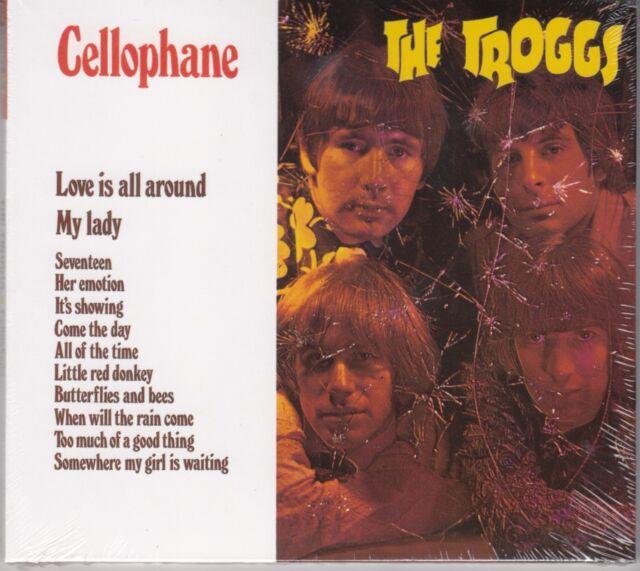 Troggs - Cellophane, CD Digipack + Bonustracks Neu