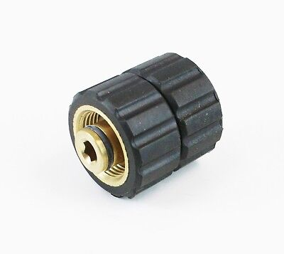 Pressure Washer Twist Type Quick Connector Socket 22mm Attach Hose To Hose