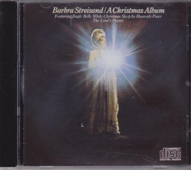 BARBRA STREISAND  - A CHRISTMAS ALBUM - CD - NEW -