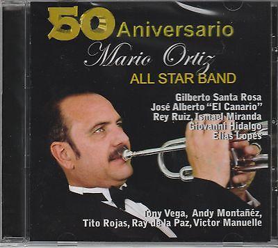 Mario Ortiz All Star Band - 50 Aniversario - Rare New Release CD Sealed - (Mario Ortiz All Star Band 50 Aniversario)