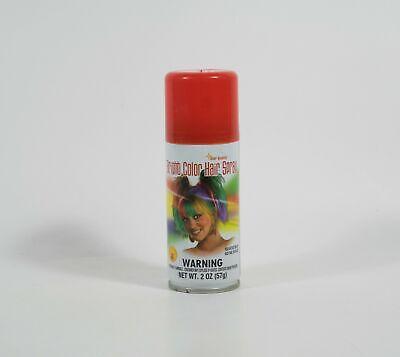 Red Temporary Hair Spray (Star Quality Bright Color Temporary Hair Spray RED  2 OZ (57g) ~ Costume)