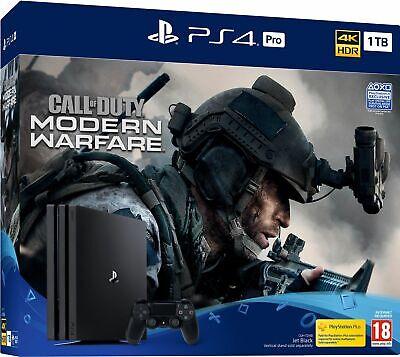 Call of Duty: Modern Warfare PS4 Pro Bundle Brand New UK PAL