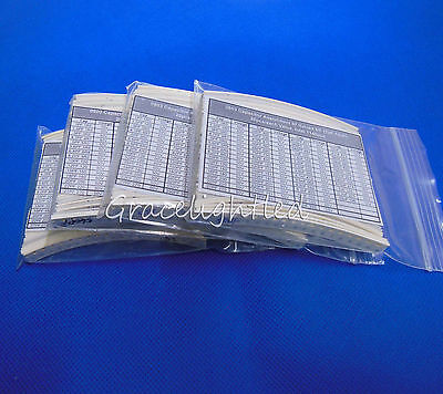 57 Values 0603 Smd Smt Chip Capacitor Assortment Kit Each 20pcs Total 1140pcs