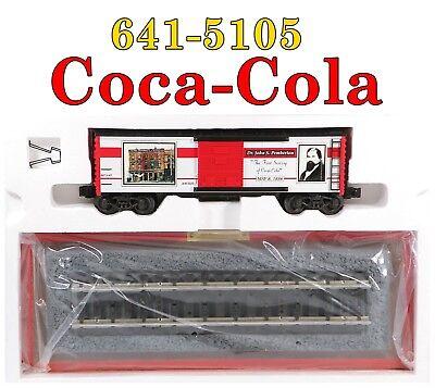 "K-Line 641-5105 Coca-Cola ""First Serving"" Boxcar w/Display Base 1997 C10 NIB for sale  Allen"