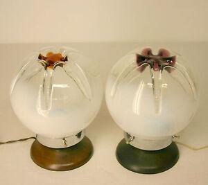 Eccezionale coppia di lampade da comodino o da tavolo anni - Lampade da tavolo anni 50 ...
