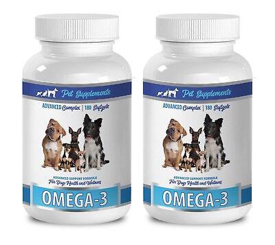 dog heart supplement - OMEGA 3 FOR DOGS - wellness dog treats